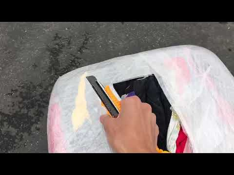 Unboxing - Sandbaggy Cotton Nylon Rags For Cleaning Towels