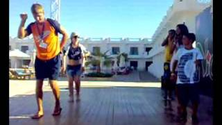 opa opa dance by animation team @sharm cliff resort  7/2008 ( sharm el-sheikh )
