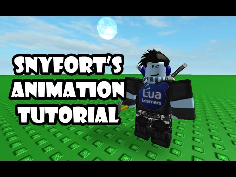 Roblox animation tutorial - Stop motion and moving effects