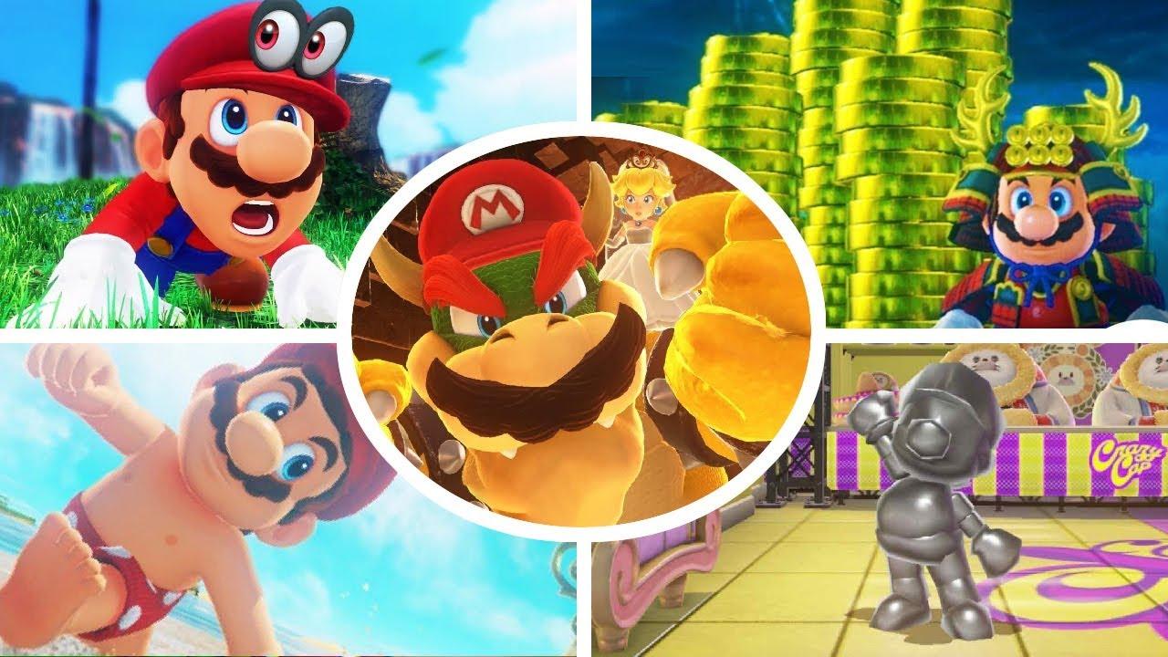7 Secrets Et Astuces Sur Mario Odyssey