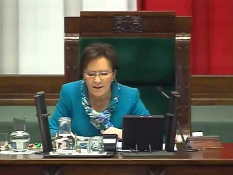 [77/188] Ewa Kopacz: Powracamy do rozpatrzenia punktu 26. porządku dziennego: Sprawozdanie Komis...