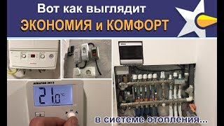 Лучшее решение покомнатного контроля температур в системе отопления!