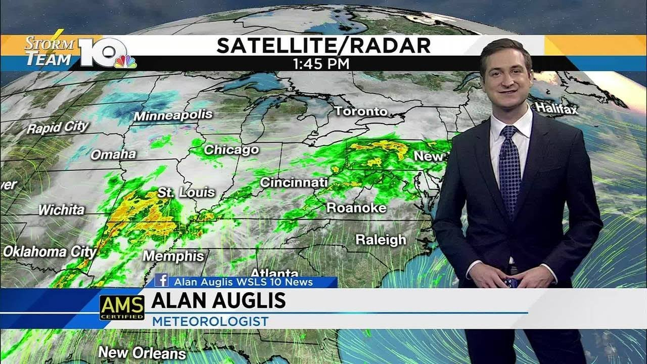 Alan's Saturday Night Weather Forecast