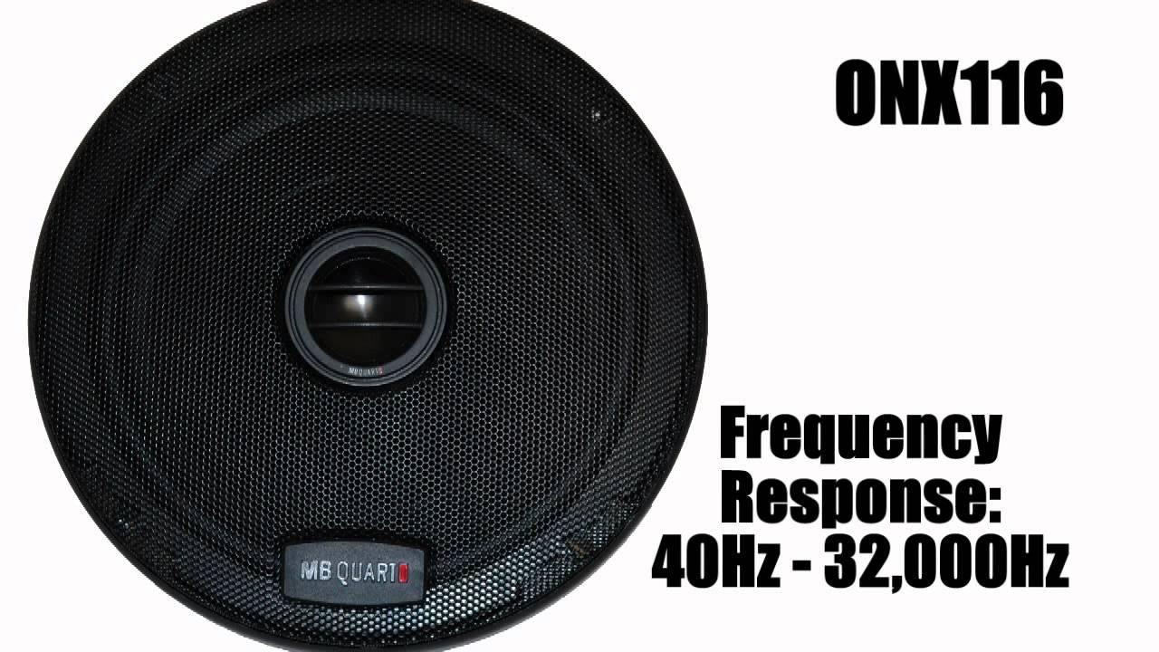 SOUND QUALITY! MB Quart ONYX Speaker Series