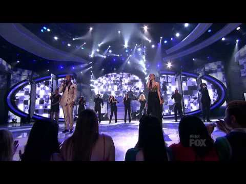 Joshua Ledet & Jessica Sanchez - I Knew You Were Waiting (For Me)
