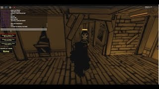 Roblox BATIM: Barrikade gejagt von Alice Angel (Bendy And The Ink Machine RP Adventure)