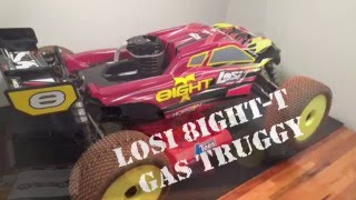 losi 8ight t gas truggy review and first thoughts