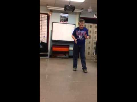 What does the fox say? Morse lip sync
