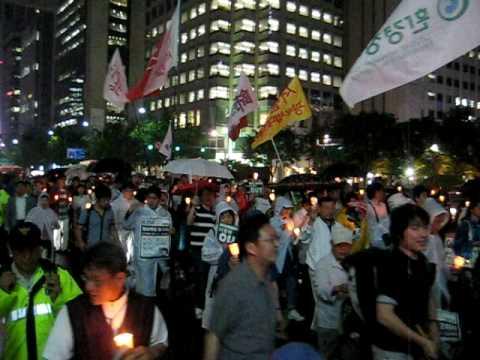 Lee Myung Bak Protest