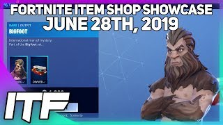 Fortnite Item Shop *NEW* BIGFOOT SKIN SET! [June 28th, 2019] (Fortnite Battle Royale)