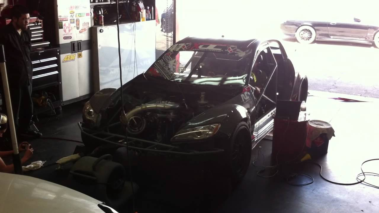 Bmi Mazda Rx8 Drift Car On The Dyno 4 Rotor 26b With A