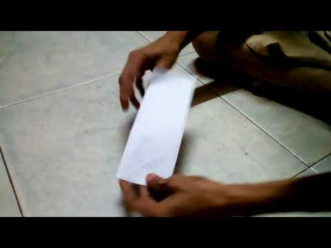 How to make paper money bag