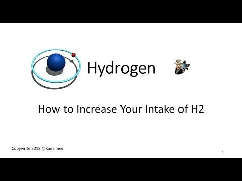 Hydrogen - How to Increase Your Intake of H2
