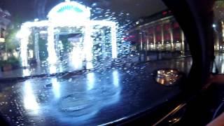Ночью по Москве с Nissan Tiida (болтовня в движении)