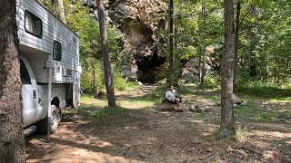 Forked Mountain - Ceḋar Creek - Dispersed Camping - Ouachita National Forest Arkansas