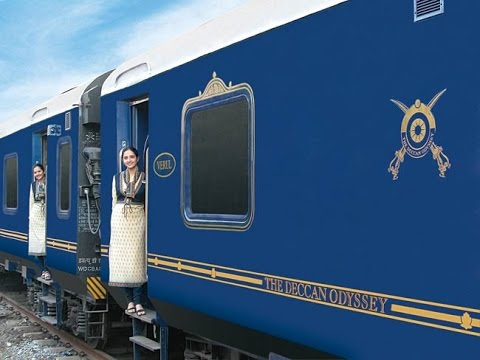 Deccan Odyssey Luxury Train Tour in India