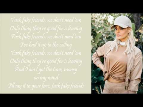 Bebe Rexha ~ F.F.F. ft. G-Eazy ~ Lyrics