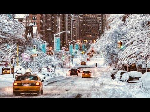 NEW YORK CITY 2018 Manhattan finally DEFROSTED! 4K