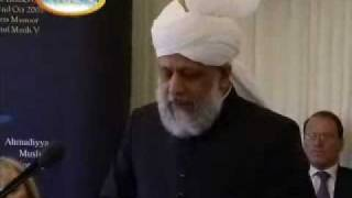 Hazoor atba, attends Reception At Parliament House PART 4\11