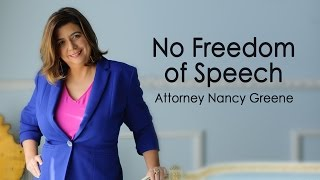 No Freedom of Speech
