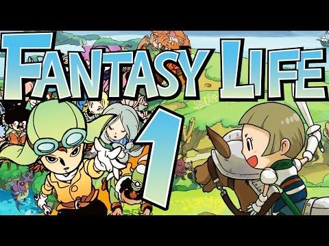 FANTASY LIFE # 01 ★ Ein neues Leben in Reveria! [HD]