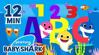 Baby Shark ABC and more | Learn with Baby Shark | Baby Shark English | Sing with Baby Shark