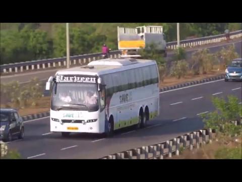 Parveen Travels buses near Chennai