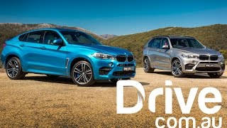 BMW X5M and X6M First Drive Review | Drive.com.au