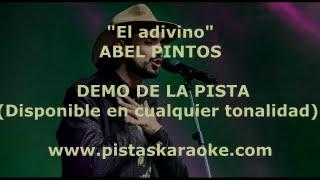 """Abel Pintos """"El adivino"""" DEMO PISTA KARAOKE"""