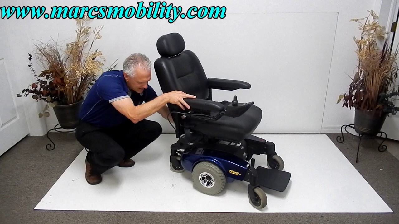 Invacare Pronto M51 Used Mid Wheel Drive Power Chair Electrical Wiring Diagrams Prmobil Wheelchair C400
