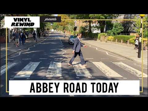 What Does Abbey Road Look Like Now - 50 Years Later   A Vinyl Rewind special