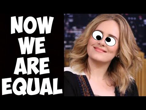 NPC Progressives Are FURIOUS Over Adele's Divorce! Say They Didn't Want That Kind Of Equality!