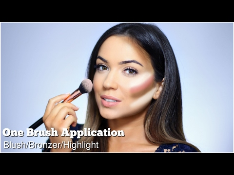 How To Apply Blush Contour Highlight