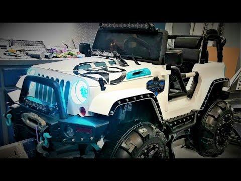 Custom Power Wheels Ride On Jeep Episode 1