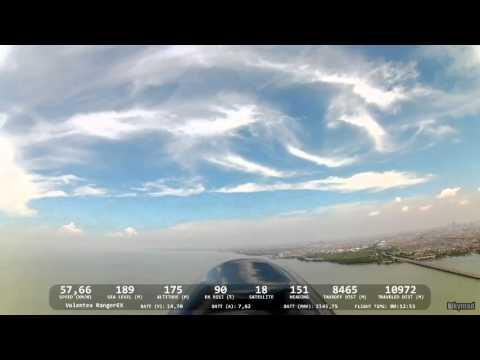 Volantex® Ranger EX 757-3 - 9.7 km to SURAMADU Bridge