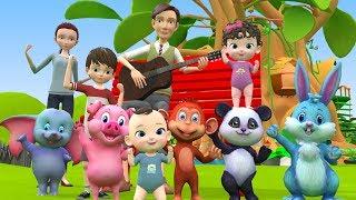 Cartoon Animals Finger Family Song For Children   Finger Family Nursery Rhymes For Kids & Toddlers