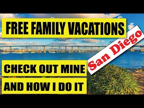 FREE Family Vacations I Promised & How I Do It.