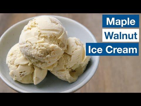 "🔵 ""Nothing Better!"" Maple Walnut Ice Cream Recipe    Glen & Friends Cooking"