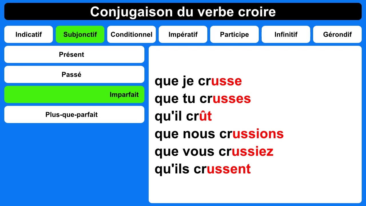 Conjugaison Du Verbe Devoir Youtube
