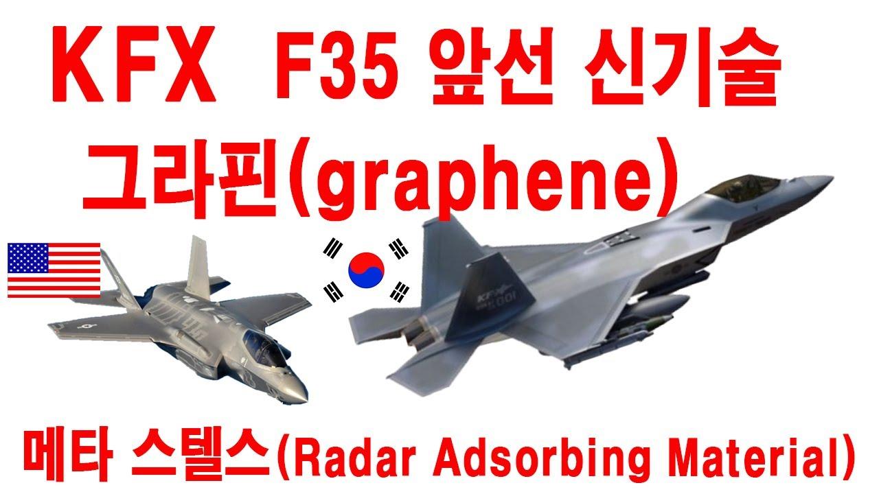 KFX 특별한 기술이 미국의 5세대 전투기 F35를 능가하는 기술이 적용됩니다. KFX를 위한 스텔스 및 메타 스텔스 기술개발을 소개하겠습니다