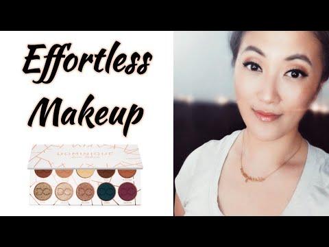 Easy, Simple, Effortless Makeup Look Using The Dominique Cosmetics Latte Palette (Sarah Kwak) thumbnail