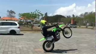 Kawasaki KLX 140 Freestyle trail ala trial