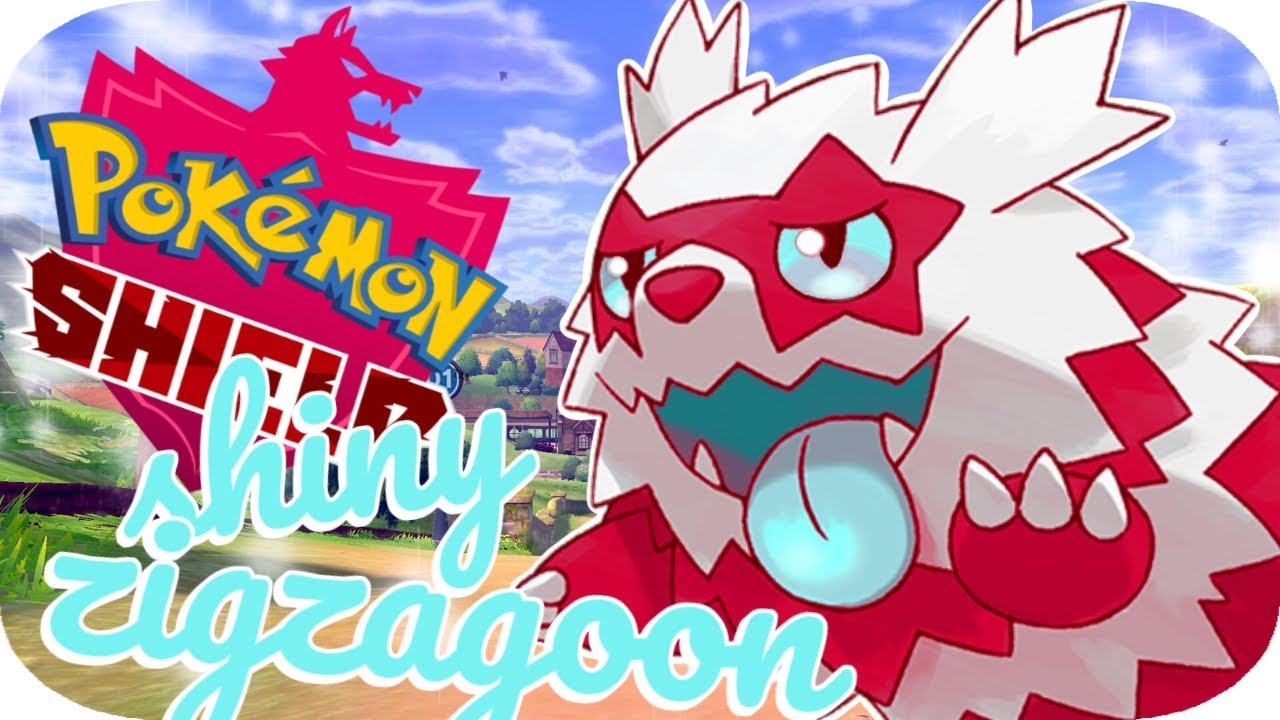 First Pokemon Sword And Shield Shiny Shiny Galarian Zigzagoon Youtube Discover the magic of the internet at imgur, a community powered entertainment destination. youtube