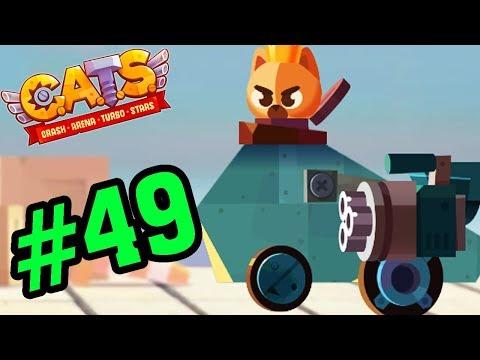 CATS: Crash Arena Turbo Stars #49 - Thăng Hạng Lên Kim Loại - Mèo Con Đại Chiến Game Mobile