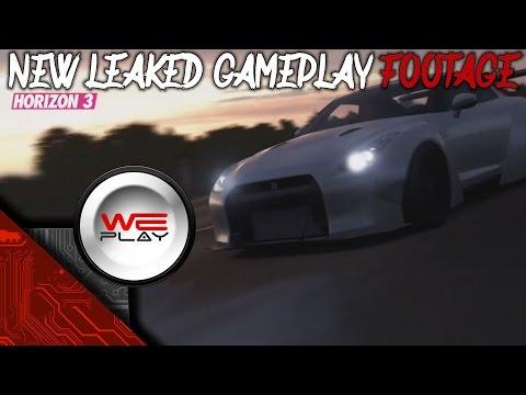 Forza Horizon 3 New Leaked Gameplay Footage