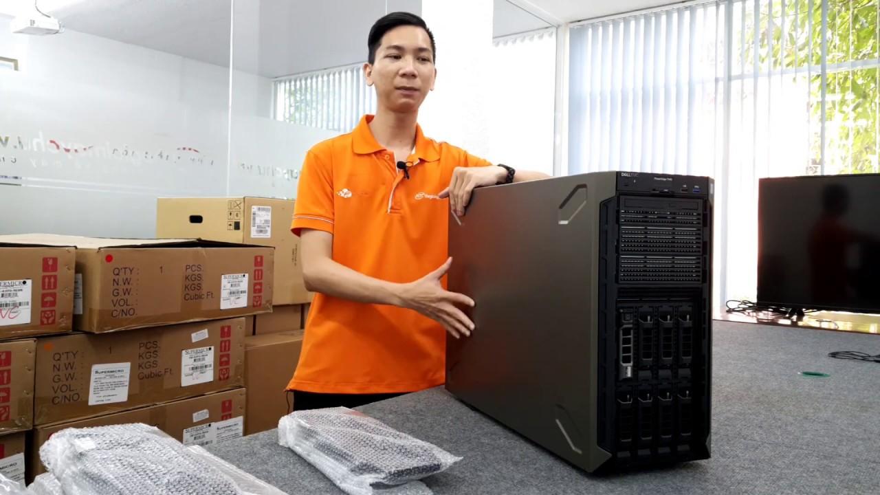 Đánh giá máy chủ tower Dell PowerEdge T440