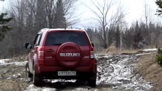 Весенние покатушки на Suzuki Grand Vitara(Весенние покатушки на Suzuki Grand Vitara или провожаем зиму не на диване., 2016-04-05T15:57:53.000Z)