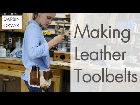 Making a Tool Belt for Construction & Woodworking