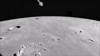 Apollo 12 Landing Site viewed by Apollo 16