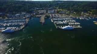 Port Jefferson Harbor- Long Island,NY From Above